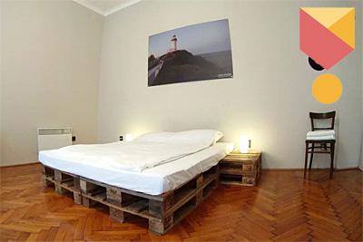 Nagymező utcai Airbnb lakás.