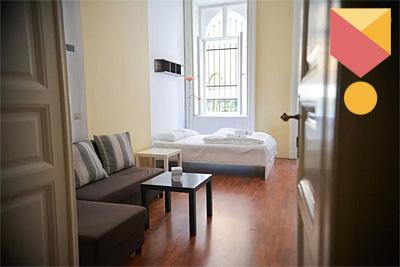 Szófiai utcai Airbnb lakás.